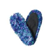 Red Carpet Studios 60001 Fuzzy Footies - Ladies - Blue-Green-Purple