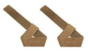 Extra Thick Natural Leather Lifting Straps - Schiek