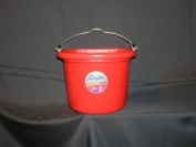 Fortex Industries Flat Back Bucket Red 7.6l - 1301802