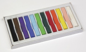Chenille Kraft CK-9712 Quality Artists Square Pastels 12- Assorted Pastels