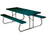 Lifetime 2123 Lifetime Heavy-Duty 6 ft Folding Picnic Table - Hunter Green