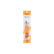 Royal Brush 270932 Crafters Choice Watercolor Brush Set 4-Pkg-Round 2 4 8 Liner 0