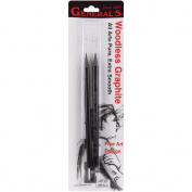 General Pencil - Pure Woodless Graphite Set - Extra-Soft Set