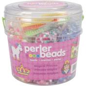 Perler Fun Fusion Fuse Bead Activity Bucket, Magic Princess