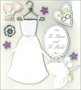 K & Company Classic Wedding Grand Adhesions Stickers