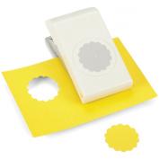 EK Success Nesting Paper Punch, Scallop Circle, 3.8cm