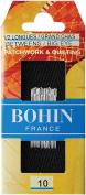 Bohin 323 Big Eye Hand Quilting Needles-Size 10 20-Pkg