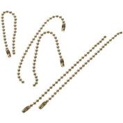 Darice 1881-24 Ball Link Chain 10cm . 28-Pkg-Brass