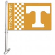 Bsi Products 97201 Car Flag W/Wall Brackett - Tennessee Volunteers