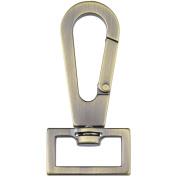 Nancy Zieman's Bag Hardware, 2.5cm , Swivel Latch, Satin Bronze