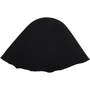 Lacis 434019 Millinery Base Wool Hoods-Black