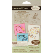 Dimensions Handmade Collection Sweet Animals Embroidery Transfer