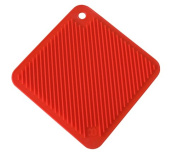 Magware MW-PHS-RED So Cool Silicone Pot Hoder Trivet - Red