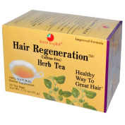 Health King Medicinal Teas 0282343 Hair Regeneration Herb Tea - 20 Tea Bags