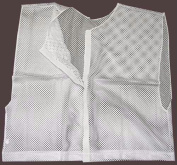 Olympia Sports PC171P Deluxe hook and loop Team-Scrimmage Vest - White
