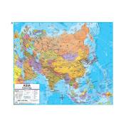 Universal Map 762546972 Asia Advanced Political Deskpad Map Set