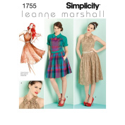 Simplicity Pattern Misses' and Miss Petite Dresses,