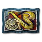 All My Walls MUS00103 Saxophone Metal Hanging Art