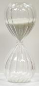G.W. Schleidt ATD10-W 10 Minute Twisted Modern Glass Timer - White