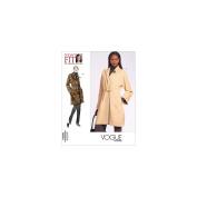 Vogue Pattern Misses' Coat, All Sizes