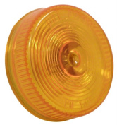 Peterson Mfg. 2-.127cm . Amber Sealed Clearance Light V142A