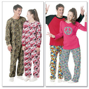 McCall's Pattern Misses' and Men's and Teen Boys' Tops, Pants and Jumpsuit, Y