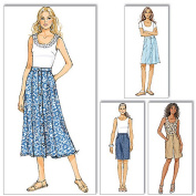 Butterick Pattern Misses' Skirt and Shorts, B5
