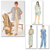 McCall's Patterns M2208 Women's Shirt, Dress Or Top, Pull-On Pants Or Shorts, Size J