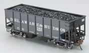 Bachmann BAC19505 HO 55T 2-Bay Hopper with Coal Load D and H