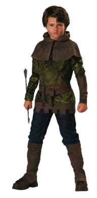 Costumes For All Occasions Ic17031C6 Robin Hood Child Size 6