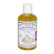 Earth Friendly Baby Organic Shampoo/Bodywash, Lavender, 8.5 - Ounce Bottle