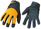 Cat Gloves Rainwear Boss Mfg Jumbo Yellow Spandex Back Gloves CAT012215J