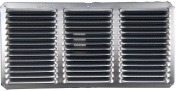 Lomanco 16in. X 8in. Mill Finished Undereave Vent C816 - Pack of 12