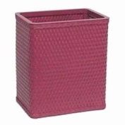 Redmon S426RB Chelsea Collection Square Wastebasket in Raspberry