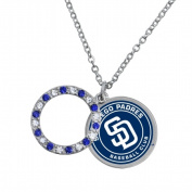 Game Time Group 101629 MLB San Diego Padres Disc Necklace