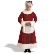 Halco 7056 Mrs. Claus Dress Costume - X-Large 16-18