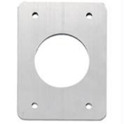TACO Backing Plates f/Grand Slam Outriggers - Anodized Aluminium