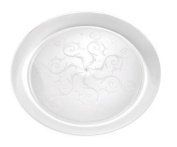 Fineline Settings 309 Savvi Serve 9 in. Clear Plate