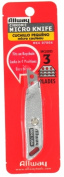 Allway Tools Metal Micro Knife With 3 Blades MK4