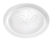 Fineline Settings 310 Savvi Serve 10 in. Clear Plate