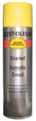 Rustoleum V2143-838 440ml Safety Yellow Professional High Performance Enamel Spr - Pack of 6