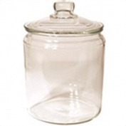 Tea Jar Round with Glass Lid 1890ml 217657