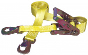 Hampton Products Keeper Ratchet Tie-Down With Flat Snap Hooks 04105