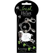 Dublin Gift Sheep Irish At Heart Key Ring