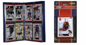 C & I Collectables 2010FLAPANTS NHL Florida Panthers Licenced 2010 Score Team Set and Storage Album