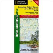 National Geographic Maps TI00000753 Boundary Waters West Superior National Forest Map