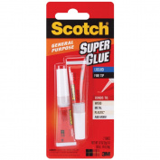 3M AD117 Scotch Super Glue Liquid 2/Pkg