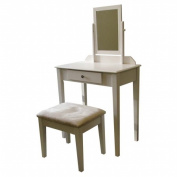 Ore International H205WH Vanity Set - White