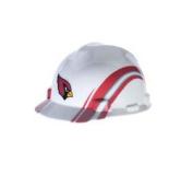 MSA 454-818384 Standard V-Gard Hard Capw-Arizona Cardinal Logo