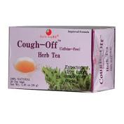 Health King Medicinal Teas 0417733 Cough-Off Herb Tea - 20 Tea Bags